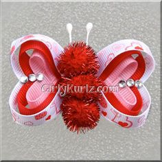 Amazing Valentine's Day Hair Bows & Clips For Girls 2014 | Hair ...