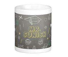 Personalised Doodle Mug Birthdaygifts