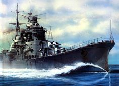 Crucero japonés Myoko. Más en www.elgrancapitan,org/foro