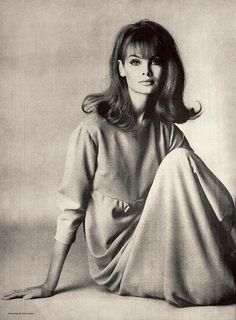 Jean Shrimpton by David Bailey, 1960s
