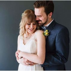 We love that #realbride Heather chose this gown from our informal line for her big day. It's perfect simplicity makes her shine all the brighter! At $395, our informal wedding dresses are a steal...and that leaves you extra money for other important thing