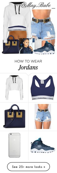 """""""Untitled #182"""" by zeniayah on Polyvore featuring Calvin Klein, Native Union, Sophie Hulme, Topshop and NIKE"""