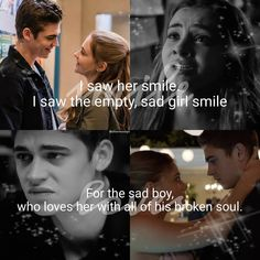 Hardin or Tessa? Cute Relationship Goals, Cute Relationships, Constantin Film, The Things They Carried, Truth And Dare, Romantic Movie Quotes, Vampire Diaries Funny, Favorite Movie Quotes, Fangirl
