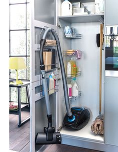 Cleaning Supplies Closet | 20 DIY Closet Organization Ideas for The Home | DIY Closet Storage Ideas for Small Spaces