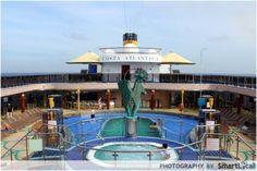 Costa Atlantica Sailing from Singapore  #travel #cruise #costacruise #costaatlantica #ship #imonaboat #singapore #holiday #vacation