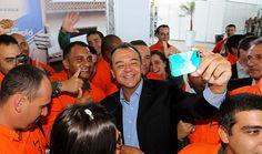 O ex-governador do Rio de Janeiro, Sérgio Cabral em evento em 2014