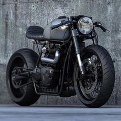 Triumph Cafe Racer Concepts by Ziggy Moto - The Bullitt Triumph Cafe Racer, T100 Triumph, Cb 450 Cafe Racer, Cafe Racer Style, Custom Cafe Racer, Cafe Racer Build, Cafe Racer Motorcycle, Moto Bike, Motorcycle Types