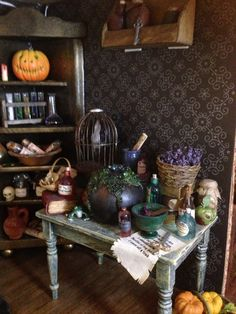 Spooky prep table by Patricia Paul