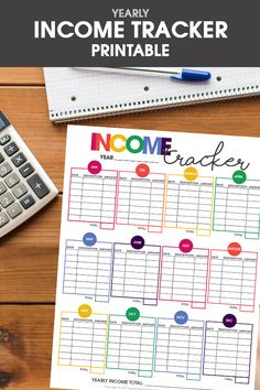 Free Printable Income Tracker- a perfect way to help keep track of your budget Budget Binder, Budget Planner, Happy Planner, Planner Dividers, Free Planner, Financial Organization, Life Organization, Date, Printable Planner