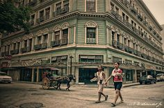 Old building in Manila, Phillipines