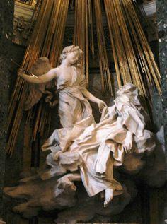 """Saint Theresa in Ecstasy"" by Gian Lorenzo Bernini - St. Peter's Basilica, Vatican City, Italy"