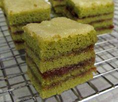 recipe: japanese green tea petits fours [3]