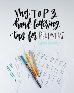 My Top 3 Hand-Lettering Tips for Beginners — KILEY IN KENTUCKY