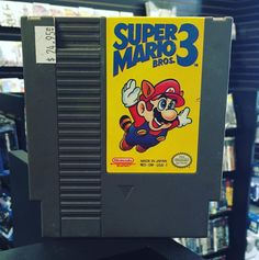On instagram by omegavideogames #gameboy #microhobbit (o) http://ift.tt/1JVEJMB Mario Bro 3 NES! #nes #n64 #nintendo #super #mario #3 #retro #classic #collection #gba  #game #gamer #games #gaming #gamestagram #videogame #videogames #videogameaddict #videogamecollection #omega #offical #orginal #oldschool #omegavideogames #awesome #memories