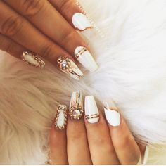 Check out more on my page linked, nails