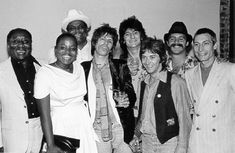The Rolling Stones with Muddy Waters
