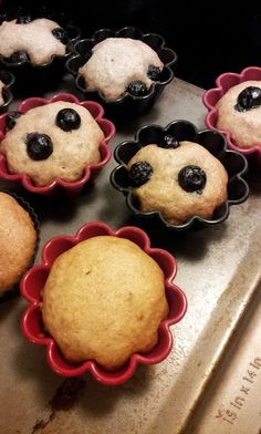 Cook With Heather: Banana Bread Muffins (extra fruit optional)