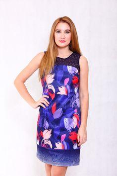 Pink-tag Large Floral Boutique dress