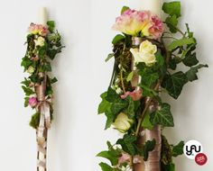 Lumanari cununie - YaU Concept Scented Candles, Plant Hanger, Wedding Flowers, Concept, Plants, Design, Home Decor, Style, Trunks