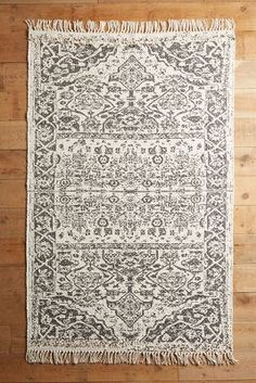 Tapis tissé à plat Alondra - anthropologie.com