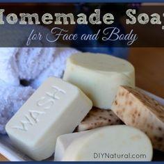 How To Make Soap - Homemade Natural Bar Soap Instructions (DIYNatural.com)