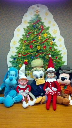 A Dickens Christmas with the elves