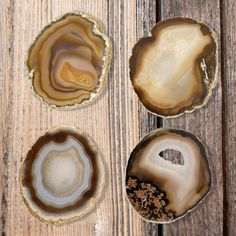 #gilded #agate #crystal #coasters