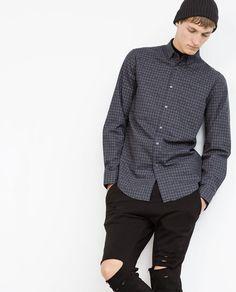Image 2 of CHECK SHIRT from Zara