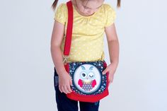 Kindergartentasche tutorial - Kindergarten bag tut