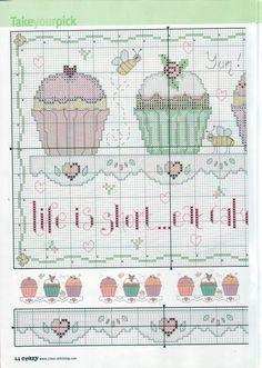 Dettagli immagine relativi a:Ponto Cruz da Drayzinha: Graficos cupcakes
