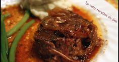 Le coin recettes de Jos: RÔTI DE PALETTE AU KETCHUP (MIJOTEUSE) Ketchup, Beef Recipes, Cooking Recipes, Yummy Recipes, Crockpot, Slow Cooker, Steak, Yummy Food, Meals