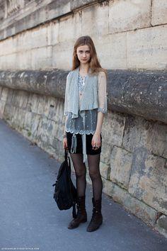 #Beata Holmgren #Model off duty #street style