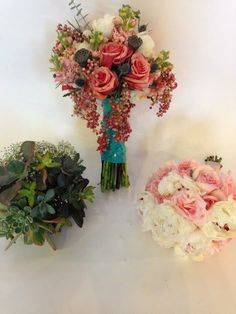 Bouquets by Oberer's Flowers and photography by Robillard Photography