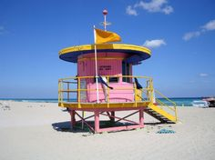 Life guard house one
