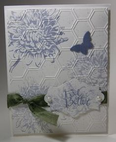 Get Well Cards #9 (Dawns stamping thoughts Stampin'Up! Demonstrator Stamping Videos Stamp Workshop Classes Scissor Charms Paper Crafts)