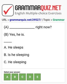 English Grammar Quiz, English Grammar Exercises, English Quiz, English Course, Learn English, English Language, Ielts, Learning English, English People