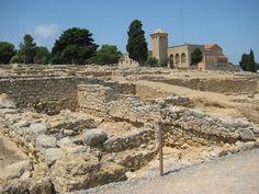 l'Escala Spain Roman Structures