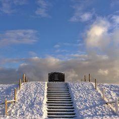 Mooie winterbeelden op Texel 6/2/2015 van © lisetteoptexel Via www.texel0222