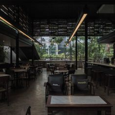 Ssssh & mmmmh [Bakoel Koffiee Bintaro by Andra Matin Architect]