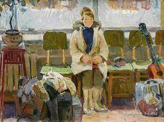 Чураков Владимир Дмитриевич (1937-2012) «На новую квартиру» 1960
