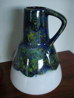 Dumler & Breiden WGP Vase, fat lava von CodDiva auf Etsy https://www.etsy.com/de/listing/211408704/dumler-breiden-wgp-vase-fat-lava
