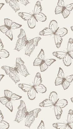 Accent Wall - Tan Botanical Animal Fabric Removable Wallpaper