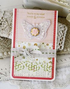 Today & Always Card by Melissa Phillips for Papertrey Ink (January 2014)
