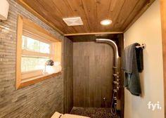Luxury tiny cabin has it all
