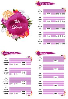 Planeje-se com Conteúdo Feminino | Planners disponíveis para impressão e organização de sua vida