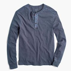 Shop the Garment-Dyed Henley at JCrew.com and see our entire selection of Men's Tees.