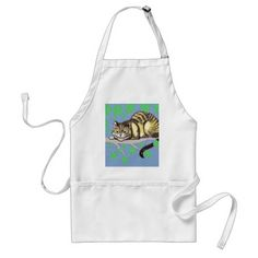 Cheshire Cat Adult Apron - cat cats kitten kitty pet love pussy