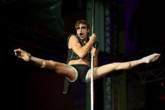 Pole Fitness, Baseball, Concert, Sports, Men, Hs Sports, Concerts, Guys, Sport