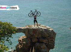 Cabo Rojo - Rider: Evelin Morales - Location: Cabo Rojo (Puerto Rico) - #ilovegirlriders #iamagirlrider