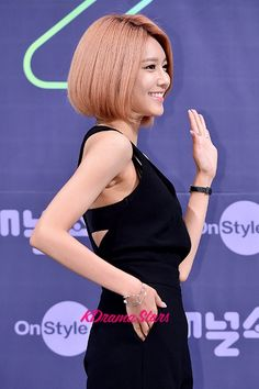 Girls' Generation[SNSD] Sooyoung at a Press Conference of OnStyle Channel SNSD